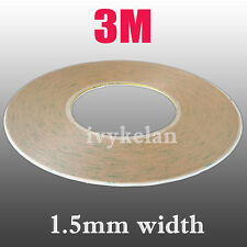 3M 9495LE 300LSE 55M Transparent Double-Sided Adhesive Tape For Phone LCD 1.5mm