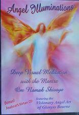 Visual Meditation DVD with Angel Art and Om Namah Shivaya + Sanskrit Chants CD