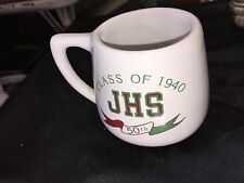 CLASS OF 1940 JAMESTOWN HIGH SCHOOL 50 YEAR REUNION COFFEE MUG
