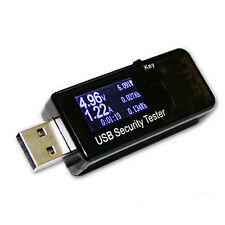 Digital Display 3V-30V Mini Current Voltage Charger Capacity Tester USB Doctor