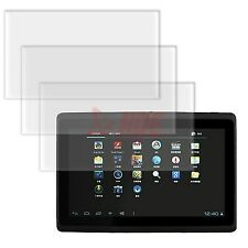 "3x Clear Touch Screen Protector for 7"" Android 4.1 Capacitive WiFi A13 Tablet PC"