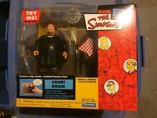 The Simpsons 2002 Court Room Playmates Exclusive Interactive Enviroment