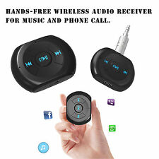 Bluetooth 4.0 Audio Stereo Receiver 3.5mm jack Car AUX Speaker Handsfree Adapter