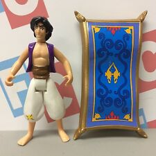 1992 Mattel ArcoToys Disney Aladdin Series 1 Aladdin Figure w/ Magic Carpet
