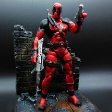 Rare Marvel Univers Séries Legends X-Men Deadpool Scènes Figurine Jouet