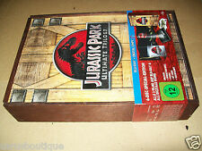 Jurassic Park Ultimate Trilogy Wooden Box  Limited 6-discs Edition Gift Set