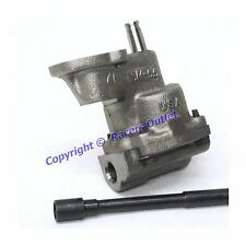 "M55 Melling Stock Oil Pump & Shaft 1968-1994 sb Chevy 350 305 With 5/8"" Inlet"