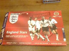 AIRFIX ENGLAND STARS ROONEY DYER ASHLEY COLE DAVID BECKHAM IS MISSING 10 PAINTS