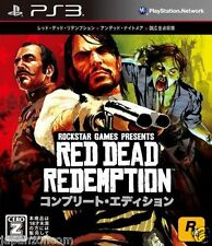 Used PS3 Red Dead Redemption SONY PLAYSTATION 3 JAPAN JAPANESE IMPORT
