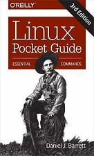 NEW - Linux Pocket Guide: Essential Commands by Barrett, Daniel J.