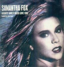 """7"""" Samantha Fox/Naughty Girls (UK)"""