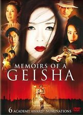 Memoirs of a Geisha (DVD, 2006, 2-Disc Set)