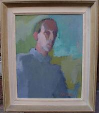 Carsten Ström 1913-1995, Selbstportrait, verso datiert 1947