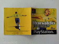 Notice/manuel/mode d'emploi Ronaldo V-Football Sony PS1 Playstation 1 PAL FR