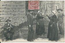 CPA 63 - postal- la relleno d'auvernia - vis a vis