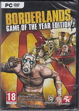 Borderlands GOTY Game of the Year Edition Brand New Sealed Versy Fast Shipping