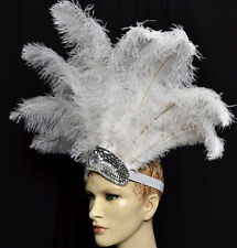 Carnival Ostrich  Feathers Headdress