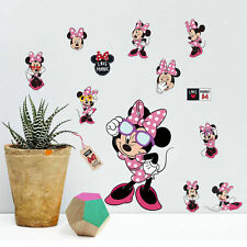 Mickey Minnie Mouse kids room decor Disney Wall sticker Cartoon style B