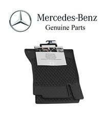 Mercedes-Benz C-Class Coupe 2017 All Weather Season Front Set Black Floor Mats