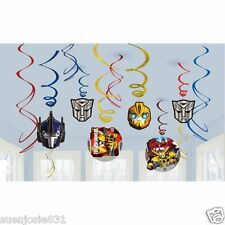 Transformers Swirl Ceiling Decorations