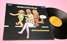 MIDDLE OF THE ROAD LP ACCELERATION ORIG 1971 NM DEEP GROOVE GAT LAMINATED