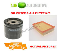 PETROL SERVICE KIT OIL AIR FILTER FOR FORD FUSION 1.6 101 BHP 2002-12