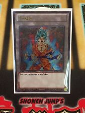 Dragon Ball Super Goku God Kaio-Ken Token Custom Ultra Rare Yugioh Token