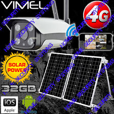 House Security System Camera 4G House Solar Farm Surveillance GSM Alarm 3G 32GB