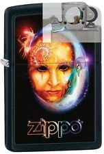 Zippo 28669 venetian mask Lighter with PIPE INSERT PL