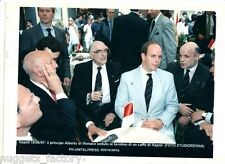 Photo originale Monaco Prince Albert - Naple 1997 ( 152 )