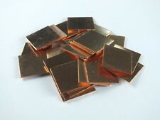 100pcs Copper Hearsinks Cooling Copper Pad Shim laptop CPU Size:15mm*15mm*0.5mm