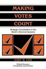 Political Economy of Institutions and Decisions: Making Votes Count :...