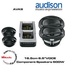 "Audison AVK6 - 16.5cm 6.5"" VOCE Component Speakers 500 Watts Total Power"