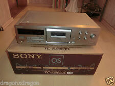 Sony tc-kb920s high-end Cassette Tape Deck, in scatola originale, 2 ANNI GARANZIA