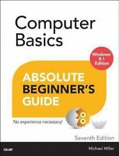 Computer Basics Absolute Beginner's Guide, Windows 8.1 Edition (7th Ed-ExLibrary