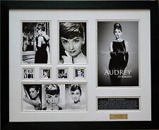 Audrey Hepburn Limited Edition Signed Framed Memorabilia