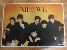 SHINHWA - WE LIMITED EDITION [ORIGINAL POSTER] *NEW* K-POP