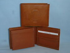 OHIO STATE BUCKEYES    Leather BiFold Wallet    NEW    brown 4