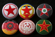 World Communist Party Button Badge Lot Hungary Vopo JNA CPUSA PLA North Korea 6