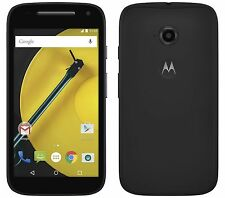 NEW IN BOX MOTOROLA MOTO E 2ND GENERATION 4G LTE BLACK ATT LOCKED 8GB SMARTPHONE