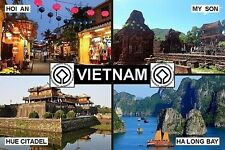 SOUVENIR FRIDGE MAGNET of UNESCO VIETNAM & HUE & HOI AN & MY SON & HALONG BAY