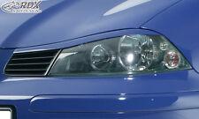 RDX fanali pannelli Seat Ibiza 6l sguardo birichino ABS SPOILER SERRANDE