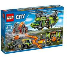 LEGO City Volcano Heavy-lift Helicopter 60125 Fast Ship By Lego Korea For Kids