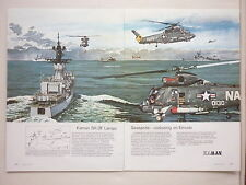 12/73 PUB KAMAN SH-2F LAMPS SEASPRITE US NAVY SAR ANTI SUBMARINE GERMAN AD
