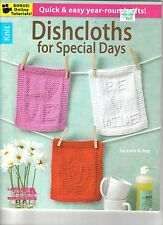 Dishcloths For Special Days ~   Knitting Book  ~ BRAND NEW
