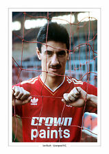 Ian rush liverpool f.c. photo A4 imprimé photo emblématique de l'image