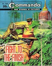 "WAR STORIES IN PICTURES - ""COMMANDO""  No. 1820 - ""FIGHT TO THE FINISH (1984)"