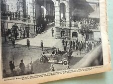 m4-9 ephemera 1918 picture ww1 savoy hotel cairo allenby arrives