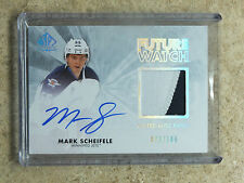 11-12 UD SPA SP Authentic FW Future Watch Limited Auto Patch MARK SCHEIFELE /100