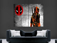 DEADPOOL MARVEL FILM TV  MOVIE  COMIC WALL POSTER ART PICTURE PRINT LARGE  HUGE